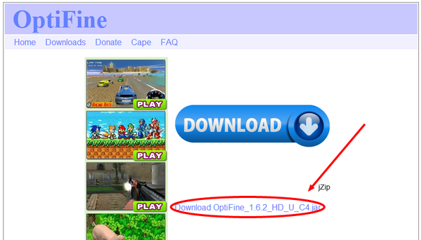 OptiFine Download