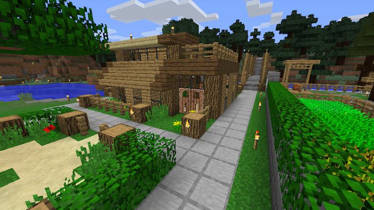 自宅紹介その3 木で作られた小さな家